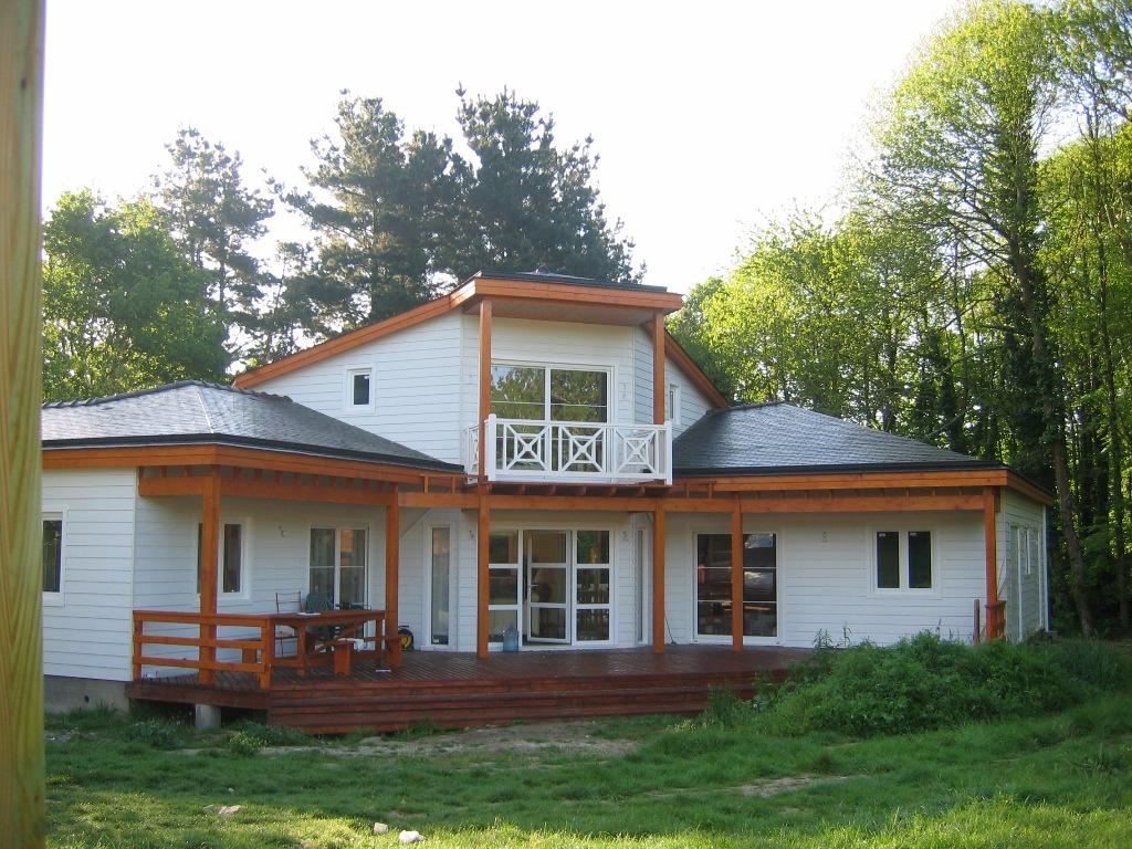 Casa din lemn Bretagna