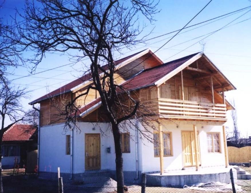 Casa din lemn Cornu III