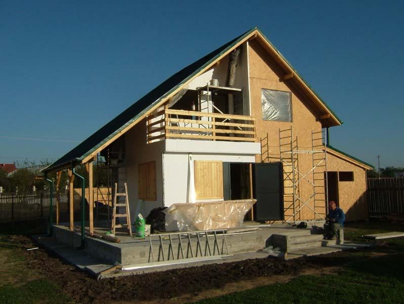 Casa din lemn Belciugatele