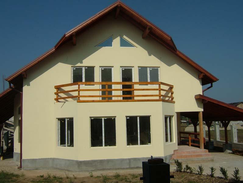 Casa din lemn Ghencea II