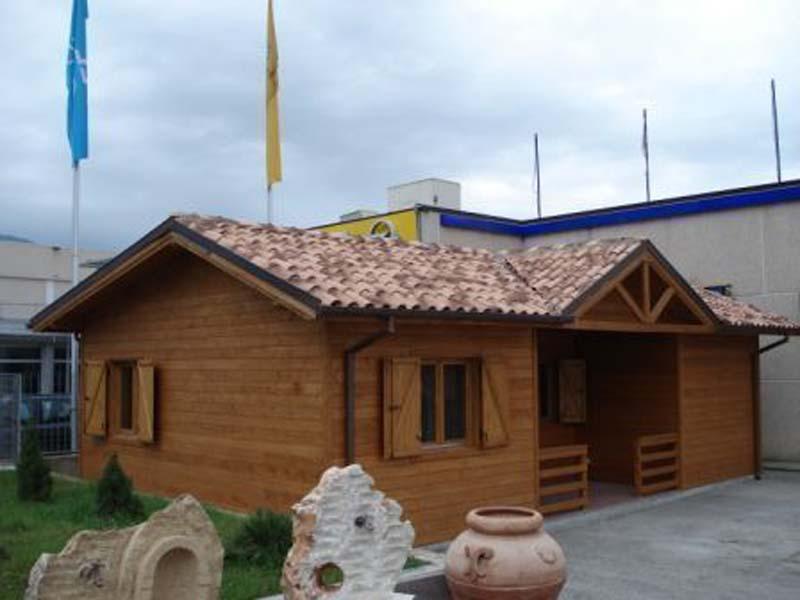 Casa din lemn Italia