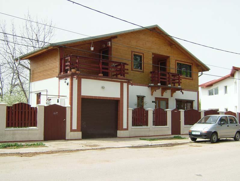 Casa din lemn Buftea
