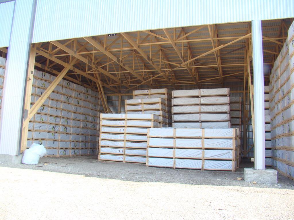 Depozit din lemn pentru case de gradina - Voslobeni (Harghita)
