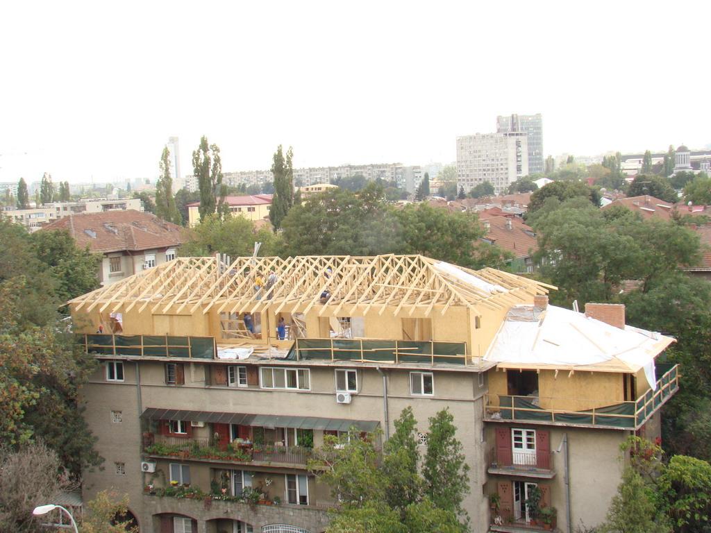 Mansarda bloc Bld. Ion Mihalache (Bucuresti)