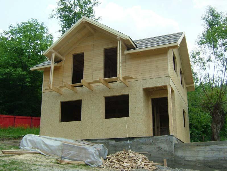 Casa din lemn Provita II