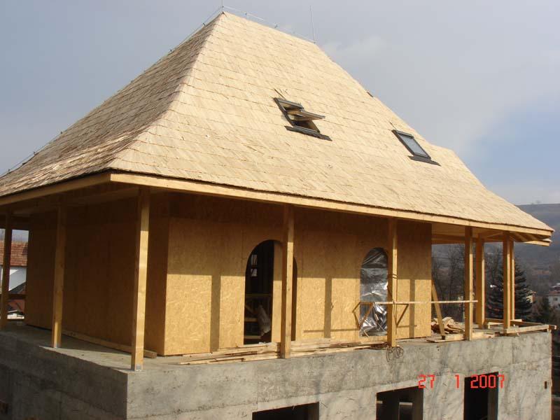 Casa din lemn Slanic Prahova