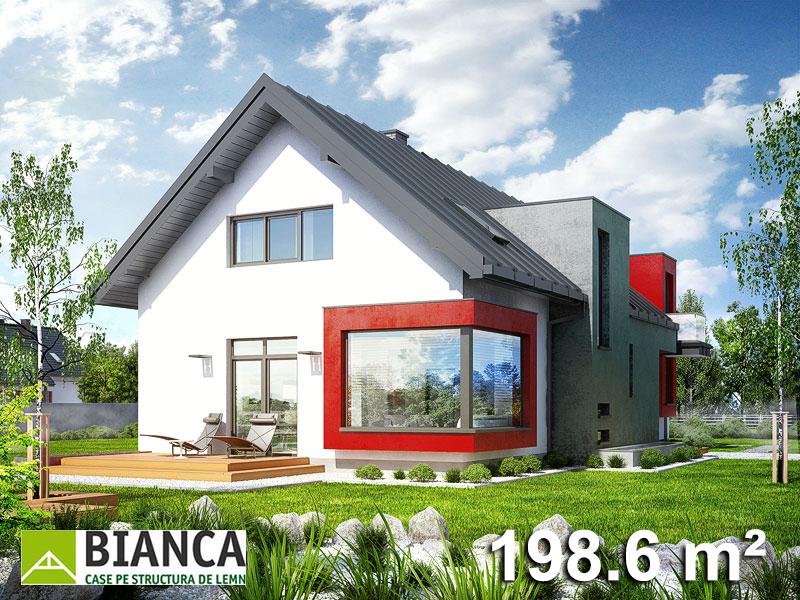 Casa Parter + Mansarda (4 camere + living) PM06