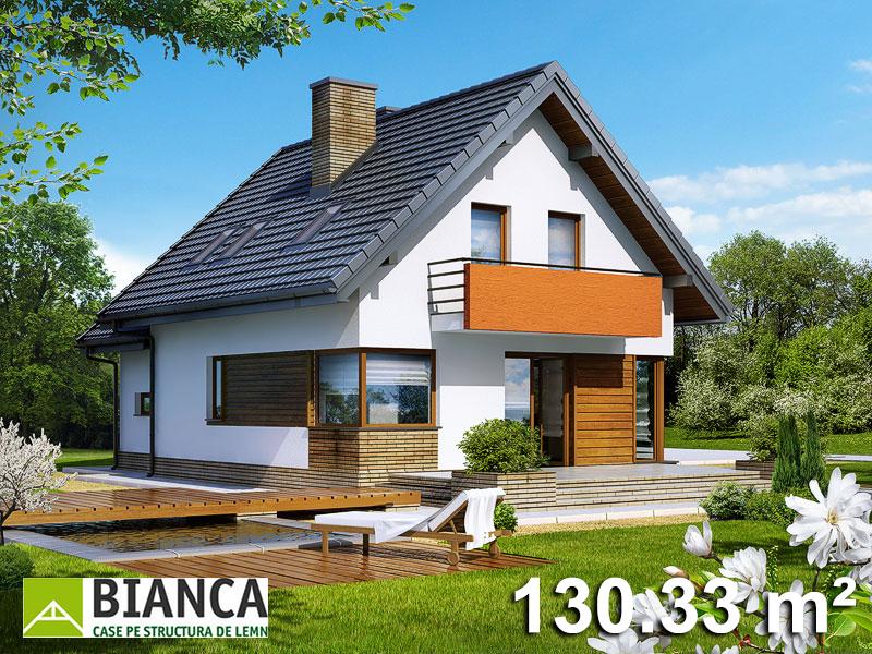 Casa Parter + Mansarda (4 camere + living) PM05