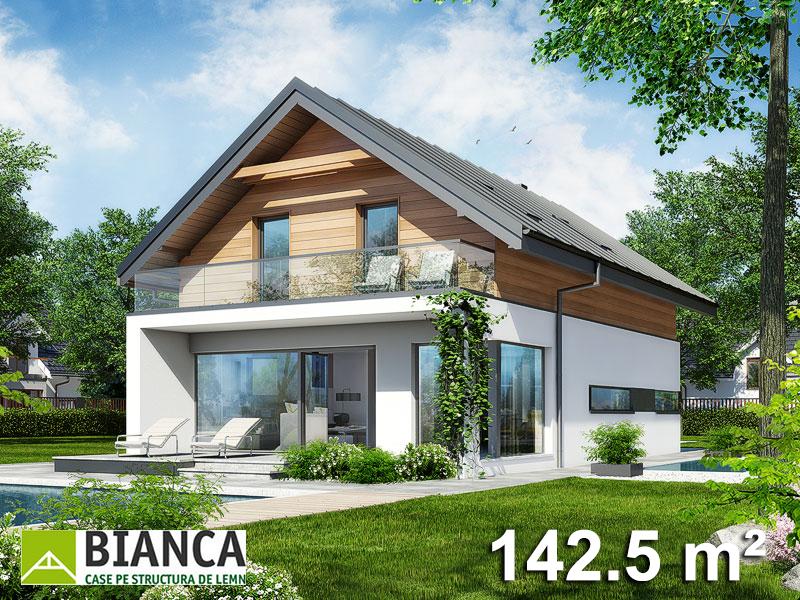 Casa Parter + Mansarda (3 camere + living) PM03