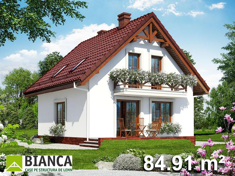 Casa Parter + Mansarda (4 camere + living) PM04