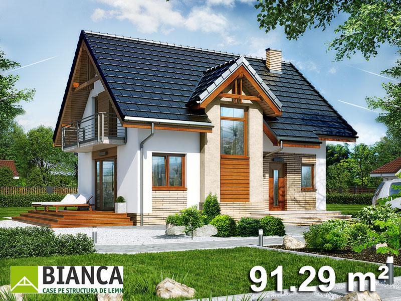 Casa Parter + Mansarda (3 camere + living) PM02