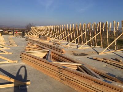 hala din lemn prefabricata